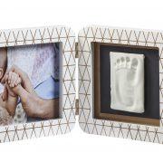 ALT = ATAY Двойная рамка Baby Art Медно-белая 2