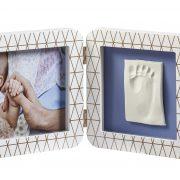 ALT = ATAY Двойная рамка Baby Art Медно-белая 1