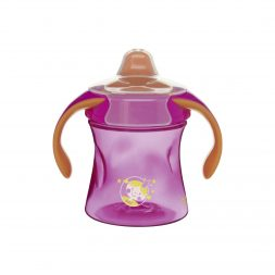 bibi_BasicCare_training cup_220 ml_with handle_Girly_12+_front_no shadow