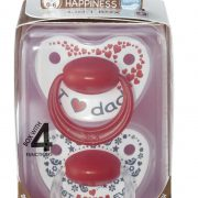 bibi_Happiness_DUO_Dental soother_Mum Dad_0-6_packed