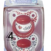 bibi_Happiness_DUO_Dental soother_Mum Dad_6-16_packed